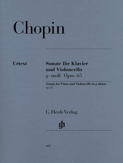 Sonata in g minor op.65 image